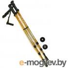 Палки для скандинавской ходьбы Indigo SL-1-3 65-135cm 3 секции Gold
