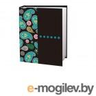 Фотоальбомы и фоторамки Фотоальбом Brauberg Пейсли Black-Turquoise 390674
