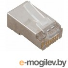 аксессуары для монтажа аксессуары для монтажа Коннектор VCOM RJ45 8P8C VNA2230-1/100 - 100шт