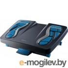 Подставка для ног Fellowes Energizer 80680 черный/синий