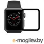 Аксессуары для APPLE Watch Защитное стекло Krutoff 3D Full Glue для Apple Watch 1/2/3 38mm 2767