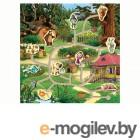 Деревянные игрушки Буратино Маша и Медведь Лабиринт 24276-1-R
