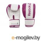 Перчатки, наколенники, налокотники Перчатки боксерские Reebok Retail 10 oz Boxing Gloves Purple RSCB-11110PL