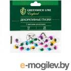 Поделки Greenwich Line Материал декоративный Глазки с цветными ресничками 10mm 20шт WE_20431