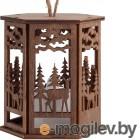 Креативные подарки Сувениры Проект 111 Фoнарик Dark Wood 10233