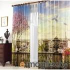 Шторы и тюль Комплект штор Тамитекс Панорама Парижа 150x270cm 2547166