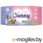 салфетки My Bunny Детские с лечебными травами 64шт GL000792274