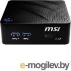 Неттоп MSI Cubi N 8GL-033XRU slim PS N5000 (1.1)/4Gb/SSD256Gb/UHDG 605/noOS/GbitEth/WiFi/BT/черный