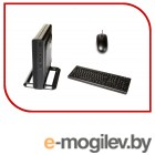 Персональный компьютер   HP 260 G3 Mini i3 7130U (2.7)/4Gb/SSD256Gb/HDG620/Windows 10 Professional 64/GbitEth/WiFi/BT/65W/клавиатура/мышь/черный