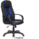 Кресло Бюрократ VIKING-8/BL+BLUE (черный/синий)