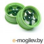 WORK MEISTER S1 WHEEL GREEN 26mm (3mm OS/2pcs)