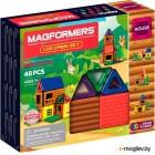 Конструктор магнитный Magformers Log Cabin Set / 705006 (48эл)