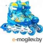 Роликовые коньки Action 155B (S, синий/желтый)