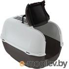 Туалет-домик Ferplast Prima Cabrio / 72053899 (черный)