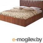 Двуспальная кровать Мебель-Парк Аврора 6 200x180 (темный)
