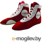 Обувь для самбо Atemi Замша (красный, р-р 44)