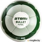 Мяч для футзала Atemi Bullet Futsal PU (размер 4, белый/зеленый)