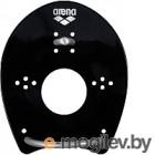 Лопатки для плавания ARENA Elite Hand Paddle 95250 55 (р-р M, чёрный/серебряный)