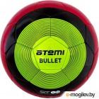 Футбольный мяч Atemi Bullet Winter PU (размер 5, красный/чёрный/зеленый)