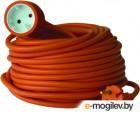 Удлинитель Electraline 01618 (20м, оранжевый)