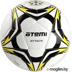 Футбольный мяч Atemi Attack PU (размер 5, белый/синий/голубой)