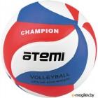 Мяч волейбольный Atemi Champion (синий/белый/красный)