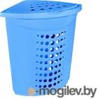 Корзина для белья Алеана 122051 (голубой)