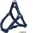 Шлея Trixie Premium One Touch Harness 204513 (М, индиго)