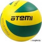 Мяч волейбольный Atemi Tornado PVC (желтый/зеленый)