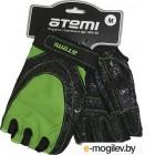 Перчатки для фитнеса Atemi AFG06GN (L, черный/зеленый)