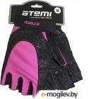 Перчатки для фитнеса Atemi AFG06P (L, черный/розовый)