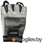 Перчатки для фитнеса Atemi AFG02 (L, черный/белый)