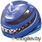 Шапочка для плавания Atemi PSC301 (голубой/акула)