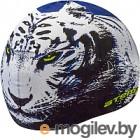 Шапочка для плавания Atemi PSC301 (синий/тигр)