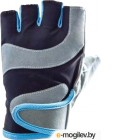Перчатки для фитнеса Atemi AFG03 (S, черный/серый)