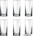Набор стаканов Pasabahce Триумф 41630/150636 (6шт)