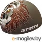 Шапочка для плавания Atemi PSC425 (серый/лев)