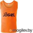 Манишка футбольная Jogel JBIB-1001 (р-р 52-54, оранжевый)