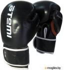 Боксерские перчатки Atemi LTB-19003 8oz (черный/белый/оранжевый)