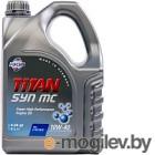 Моторное масло Fuchs Titan Syn Mc 10W40 / 601004360 (4л)
