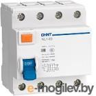 Устройство защитного отключения Chint NL1-63 6kA 4P 63A 100мА AC (DB)