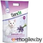 Наполнитель для туалета Sanicat Professional Diamonds Lavender (15л)