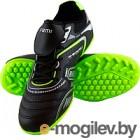 Бутсы футбольные Atemi SD300 TURF (черный/салатовый, р-р 43)
