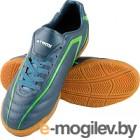 Бутсы футбольные Atemi SD500 Indoor (серый/зеленый, р-р 30)