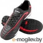 Бутсы футбольные Atemi SD500 TURF (черный/красный, р-р 43)