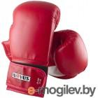 Боксерские перчатки Novus LTB-16301 (S/M, красный)