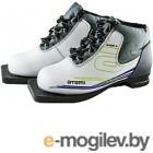 Ботинки для беговых лыж Atemi А200 Jr White NN75 (р-р 33)