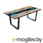 Обеденный стол Timb 1028 (эпоксидная смола/дуб)