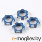 Гайки колес 1/8 - V2 Wheels Nuts 1.25mm Thread - Blue (4шт).