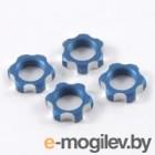 Гайки колес 1/8 - V2 Wheels Nuts 1.00mm Thread - Blue (4шт).